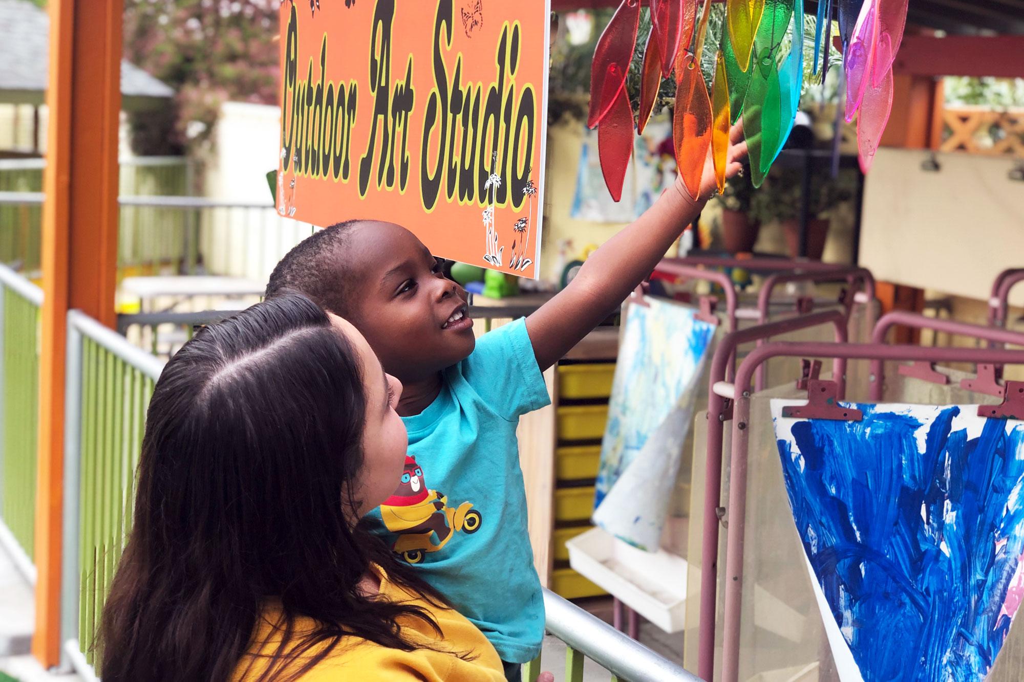 Village-Preschool-Academy-Outdoor-Art